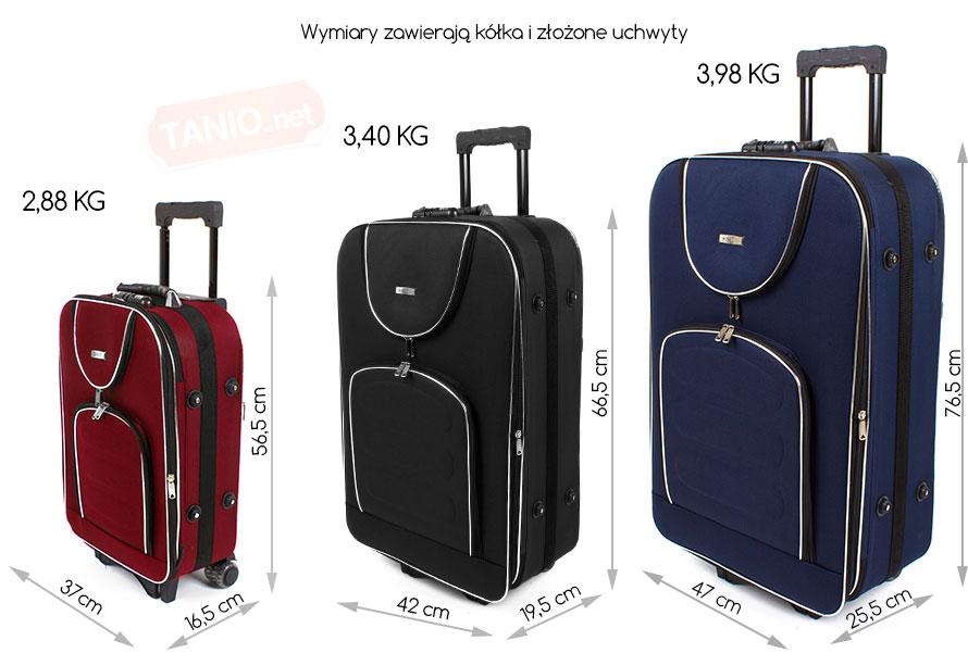 3927b2dd6cc1a Bardzo Duża Walizka Podróżna Wymiary  Luksusowa walizka podr  na viva GM-71