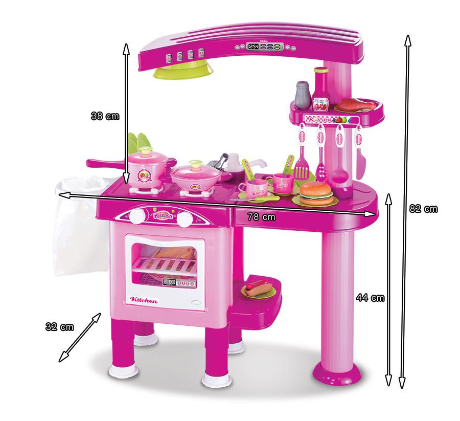 DUŻA KUCHNIA DLA DZIECI I AKCESORIA KinderKraft   -> Kuchnia Dla Dzieci Kinderkraft